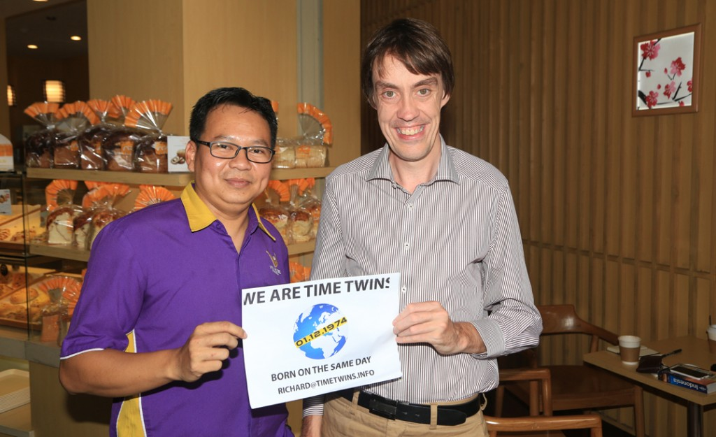 Irawan and I, Bandung. Photograph: Stuart Scott/Culturpology