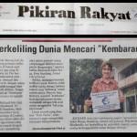 The article in Pikiran Rakyat