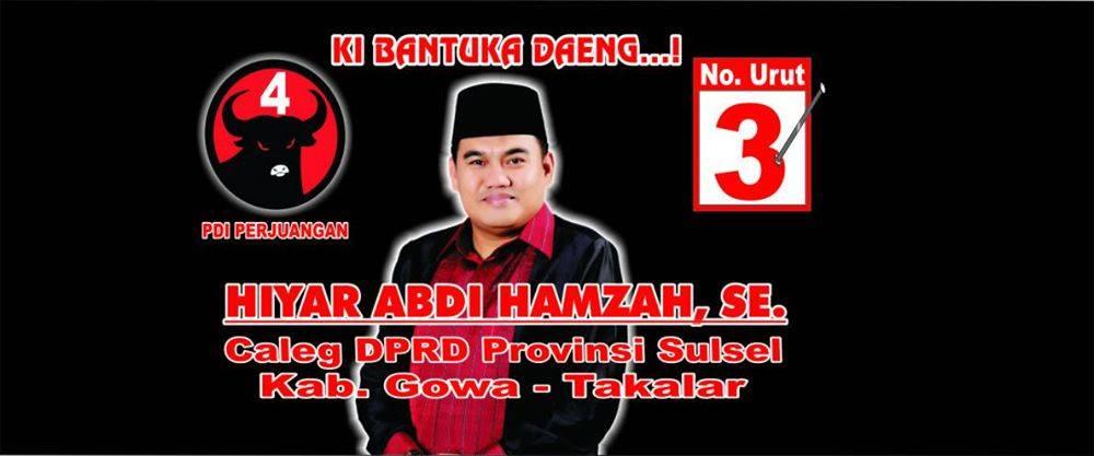 Hiyar's campaign poster
