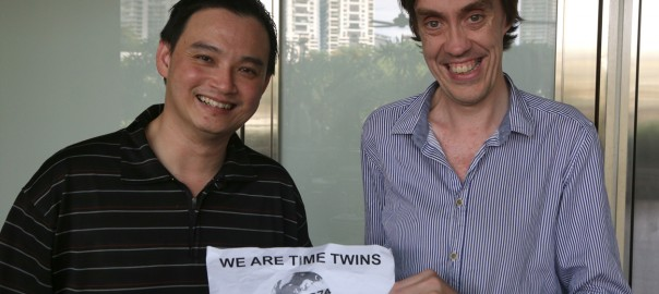 Chan and I, Kuala Lumpur. Photograph: Stuart Scott/Culturpology
